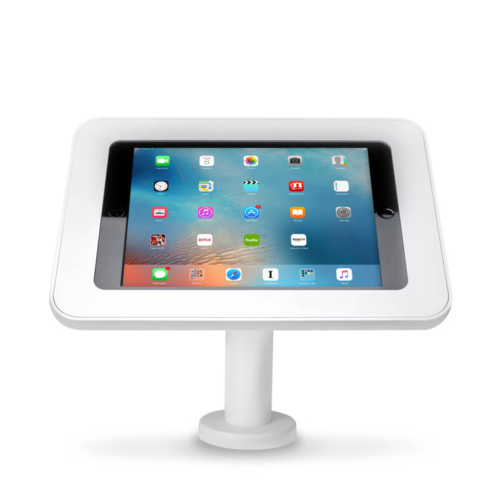 Tablet Stand | Desk 45 White | Front