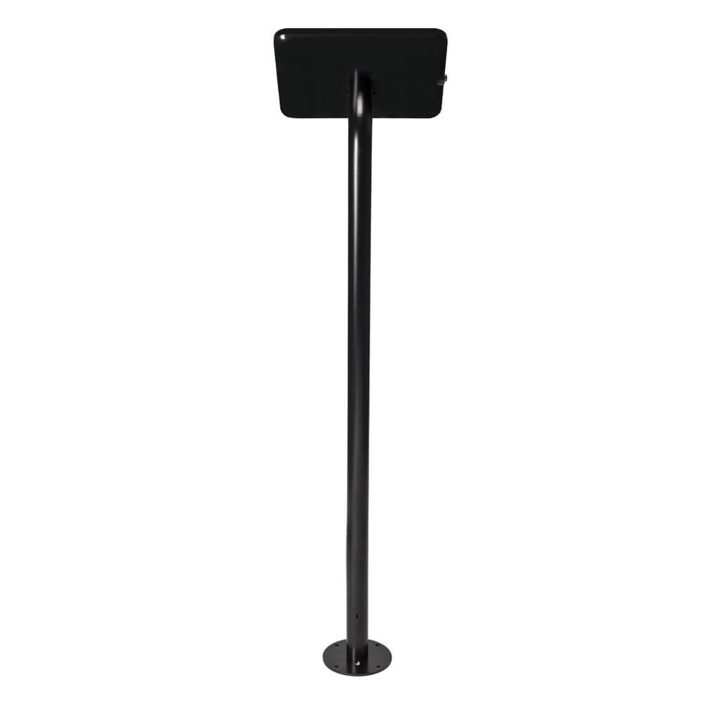 Tablet Stand | Floor Fixed Black | Back