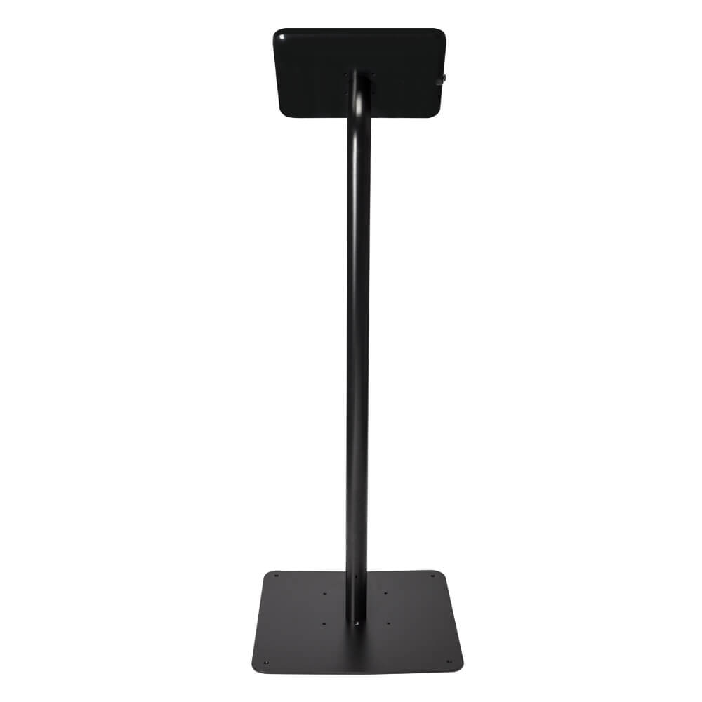 Tablet Stand | Floor Freestanding Black | Back