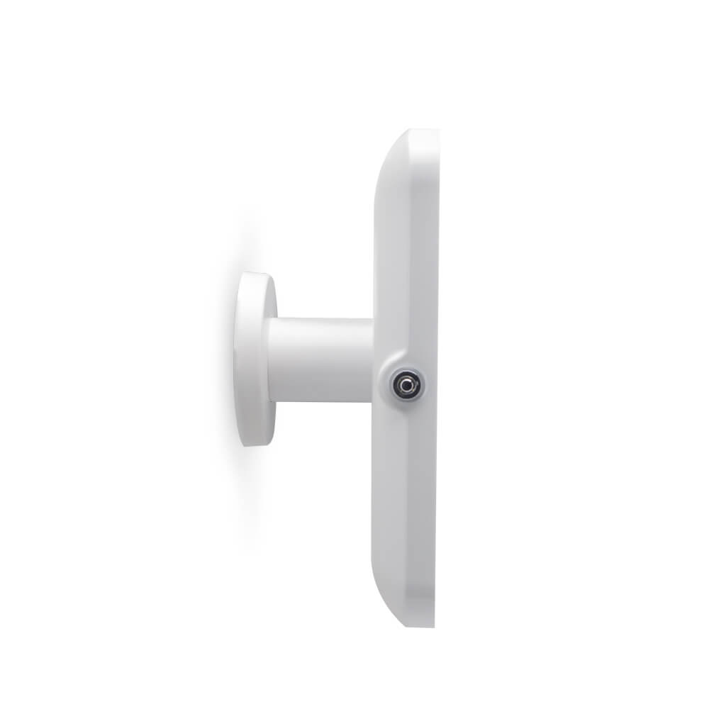 Tablet Stand   Wall 90 White   Side